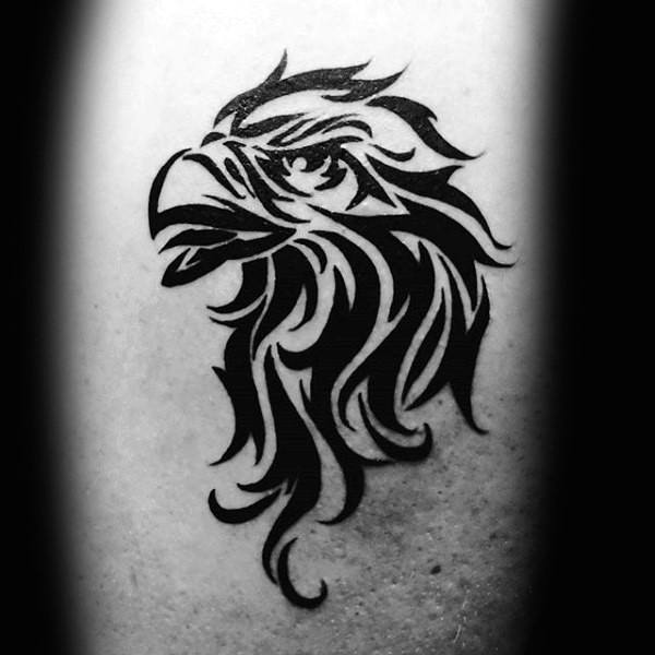 52 Amazing Tribal Eagle Tattoos Designs With Meanings