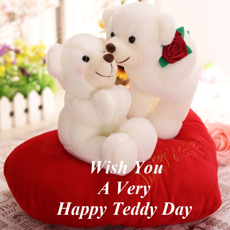 wish you a very happy teddy day