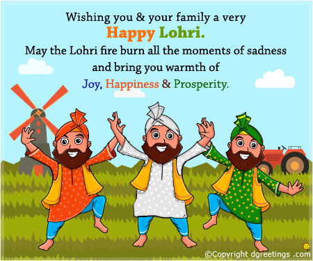 Wishing You & Your family A Very Happy Lohri
