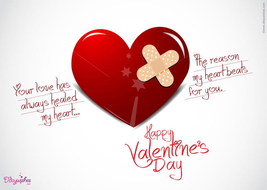 60 best valentines day 2018 greeting picture ideas your love has always healed my heart the reason my heart beats for you happy valentines day m4hsunfo