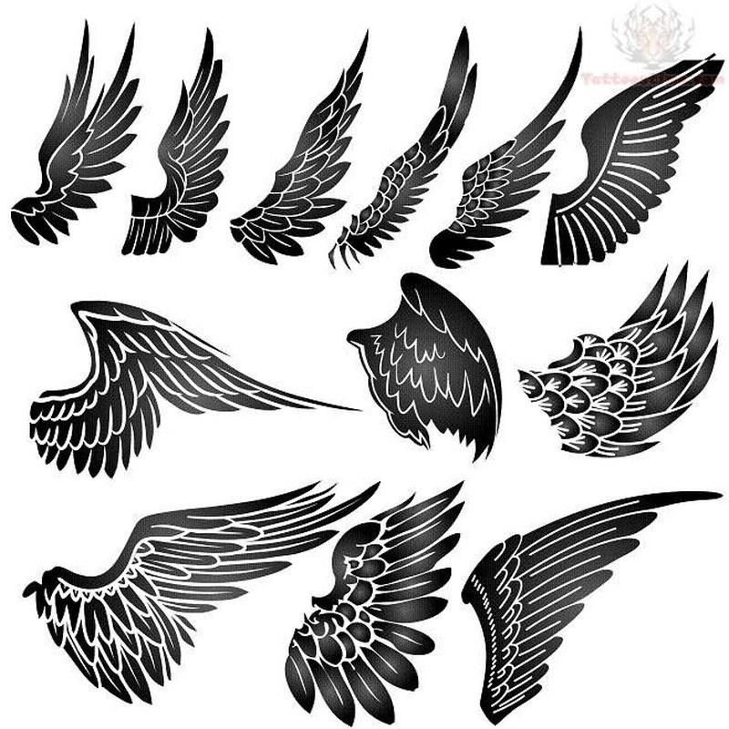 Tattoo Designs Wings: 20+ Best Eagle Wings Tattoos & Design With Meanings