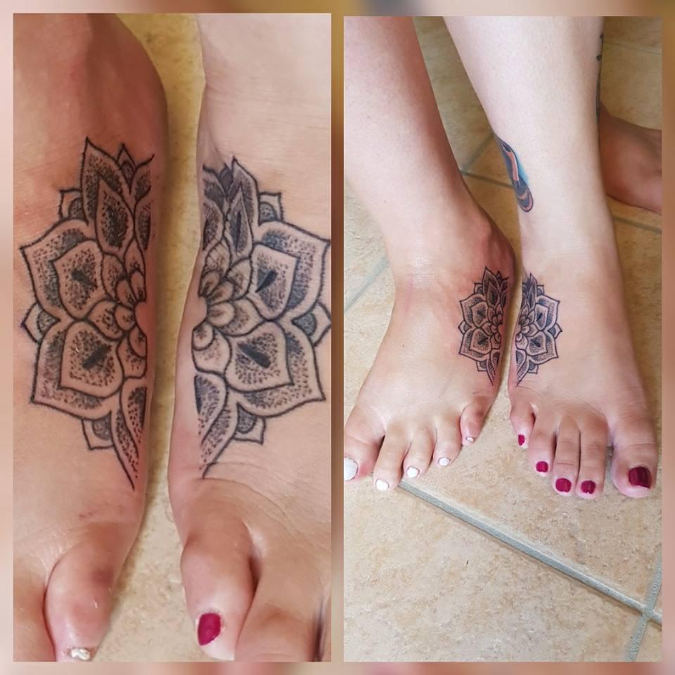 foot tattoos. Black Bedroom Furniture Sets. Home Design Ideas