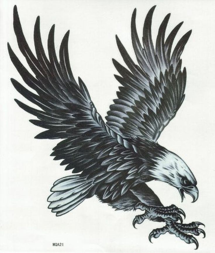 9b350e7dc 110+ Best Flying Eagle Tattoos & Designs With Meanings