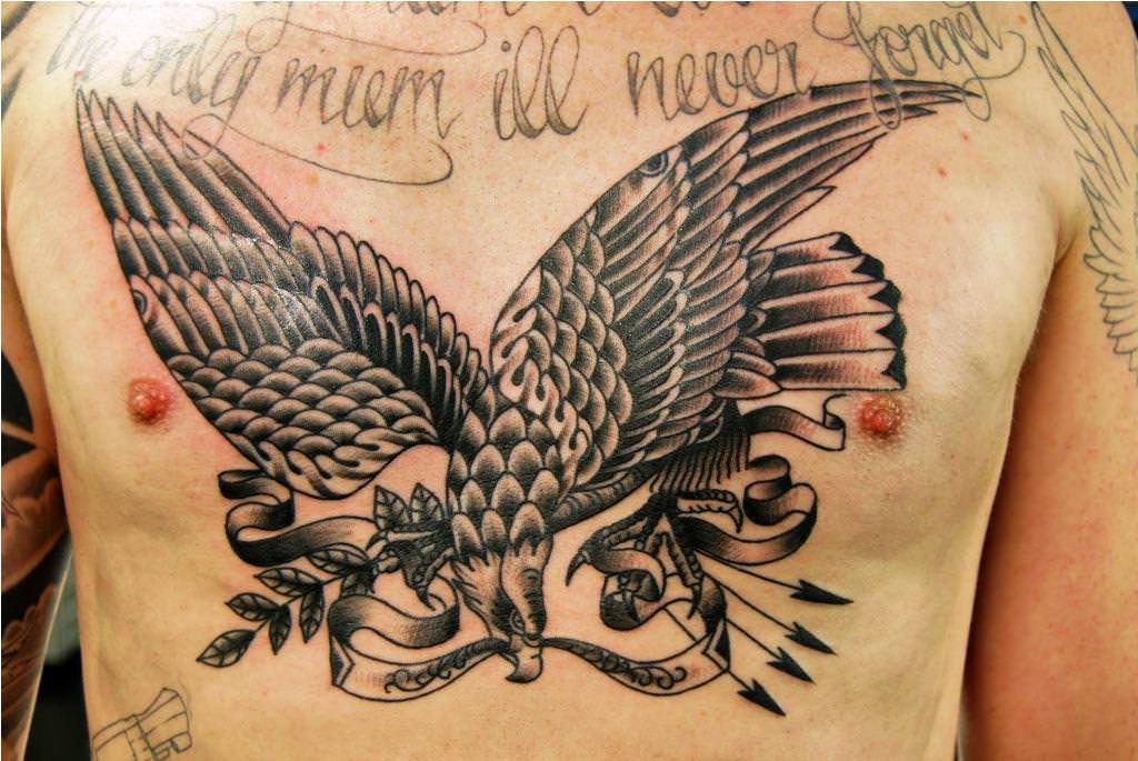 101 best eagle tattoos designs with meanings. Black Bedroom Furniture Sets. Home Design Ideas