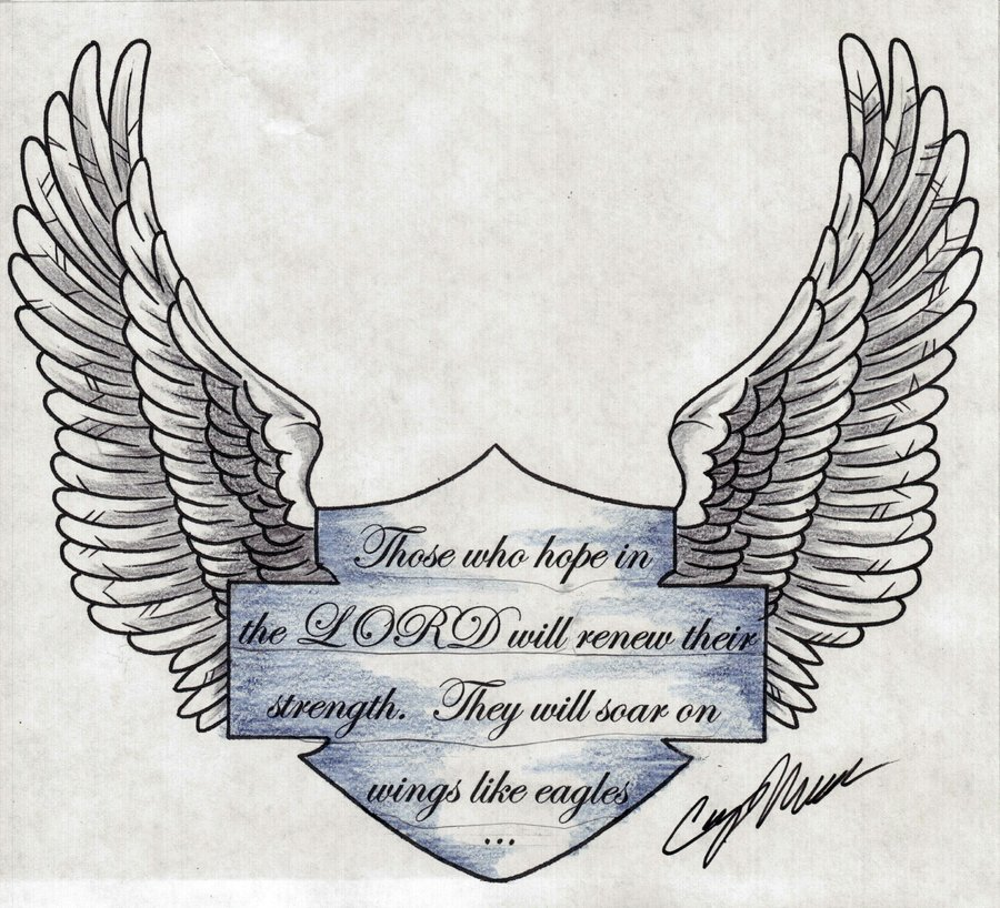 20+ Best Eagle Wings Tattoos & Design With Meanings
