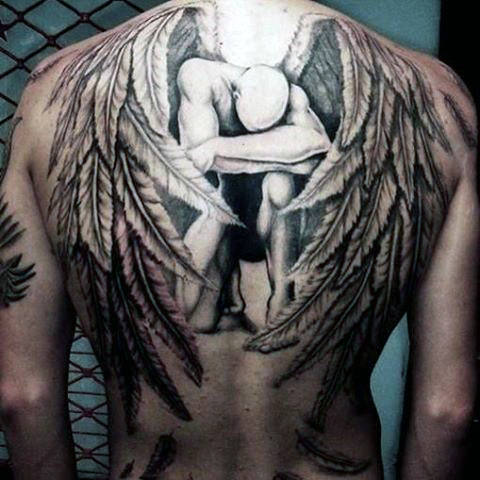 105 Remarkable Guardian Angel Tattoo Ideas Designs With
