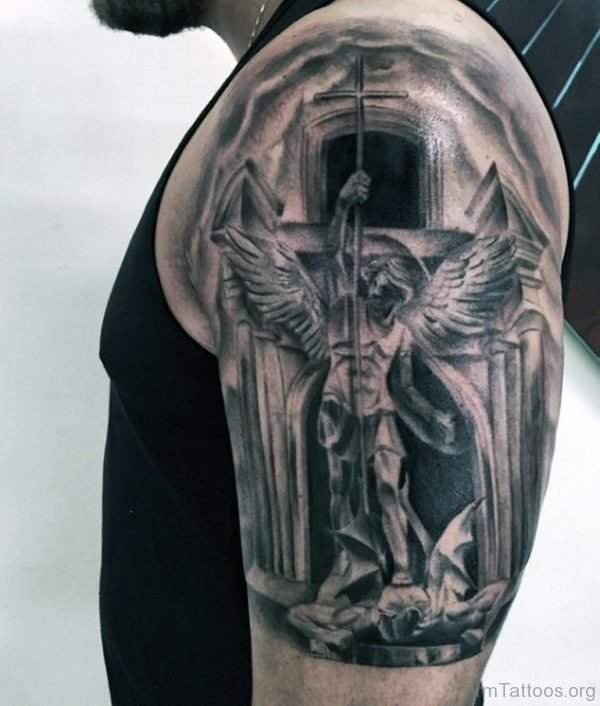 49c12f6ab2700 105+ Remarkable Guardian Angel Tattoo Ideas & Designs With Meanings