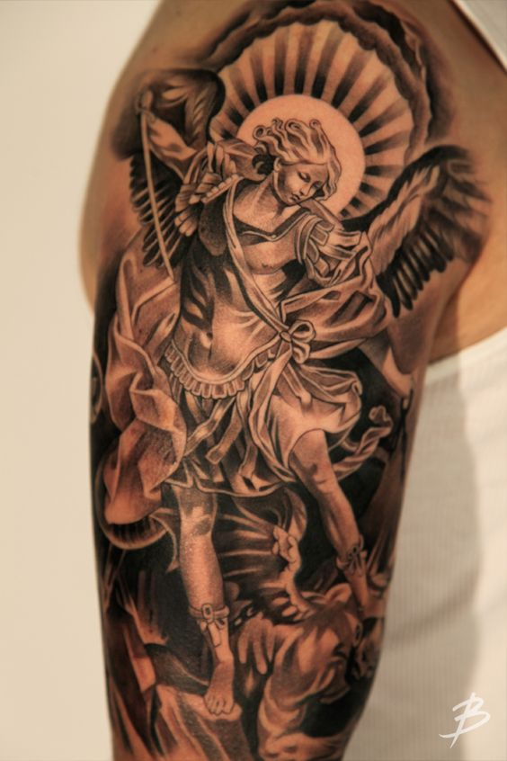 105 Best Angel Tattoos Designs With Meanings