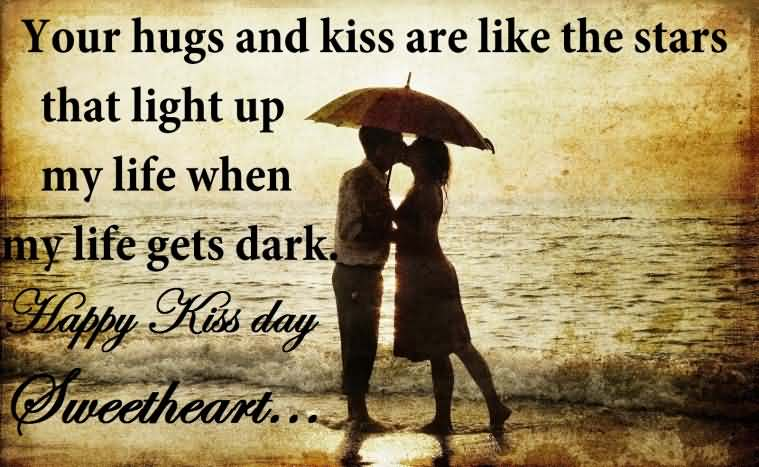 Kiss Images With Quotes: 110+ Most Beautiful Kiss Day 2018 Greeting Ideas