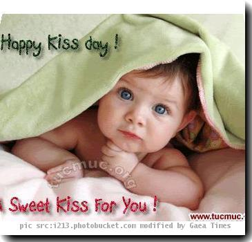 Happy Kiss Day Sweet kiss for you
