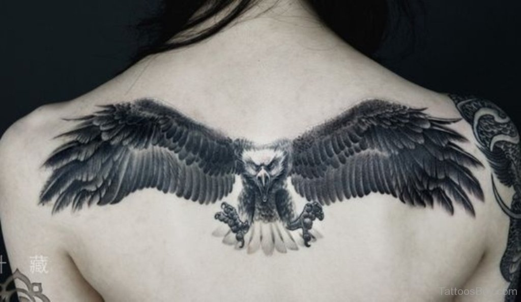 110+ Best Flying Eagle Tattoos & Designs With Meanings