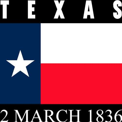 Texas Independence Day 2 March 1836
