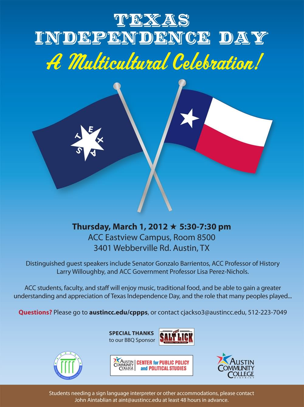 Texas Independence Day a multicultural celebration
