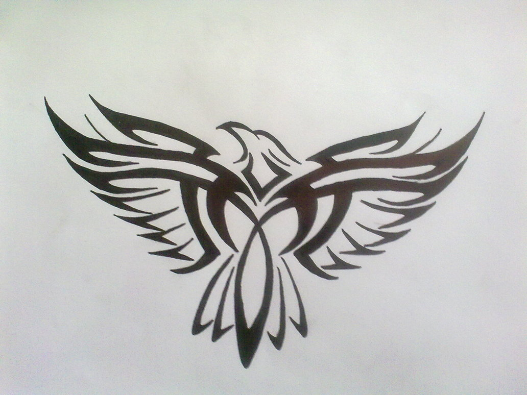 a3889131c Tribal Eagle Tattoo Design by Bogi90 on DeviantArt