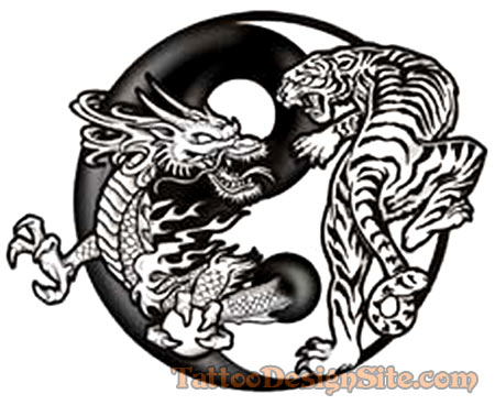 45 Dragon And Tiger Tattoos Designs With Meanings