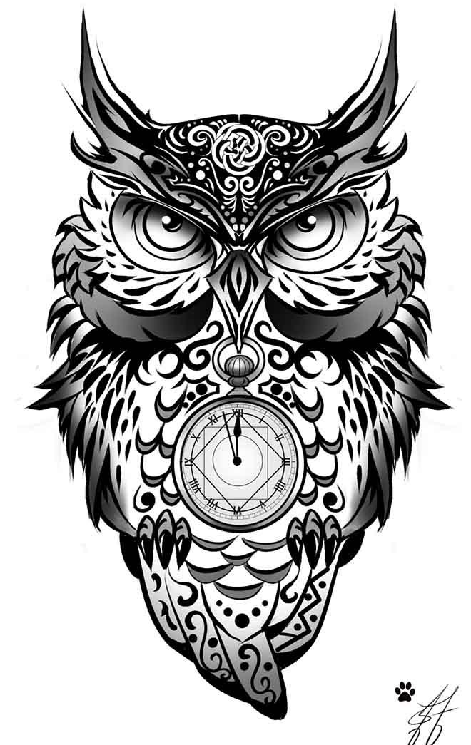 50+ Best Tribal Owl Tattoo Ideas & Designs