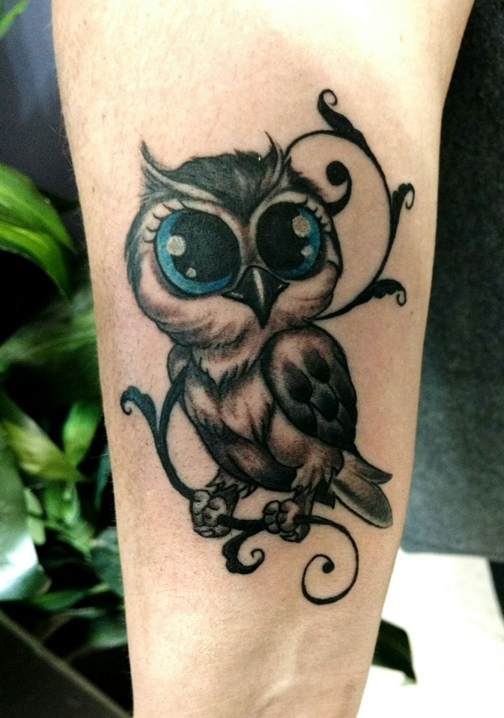 76bbe92caf3df 70+ Best Baby Owl Tattoo Designs & Ideas With Meanings