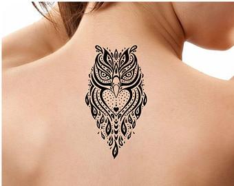 Tattoo Tribal For Girl 30 Tribal Owl Tattoos Ideas