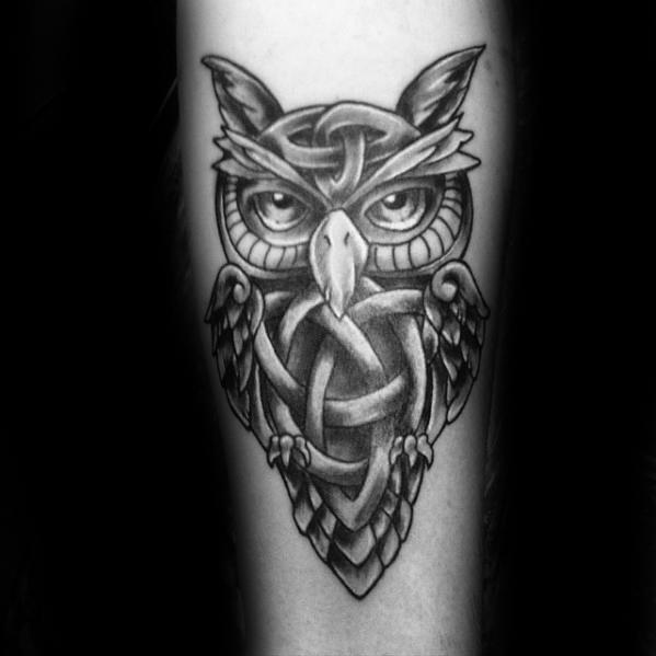 21+ Best Celtic Owl Tattoos & Designs