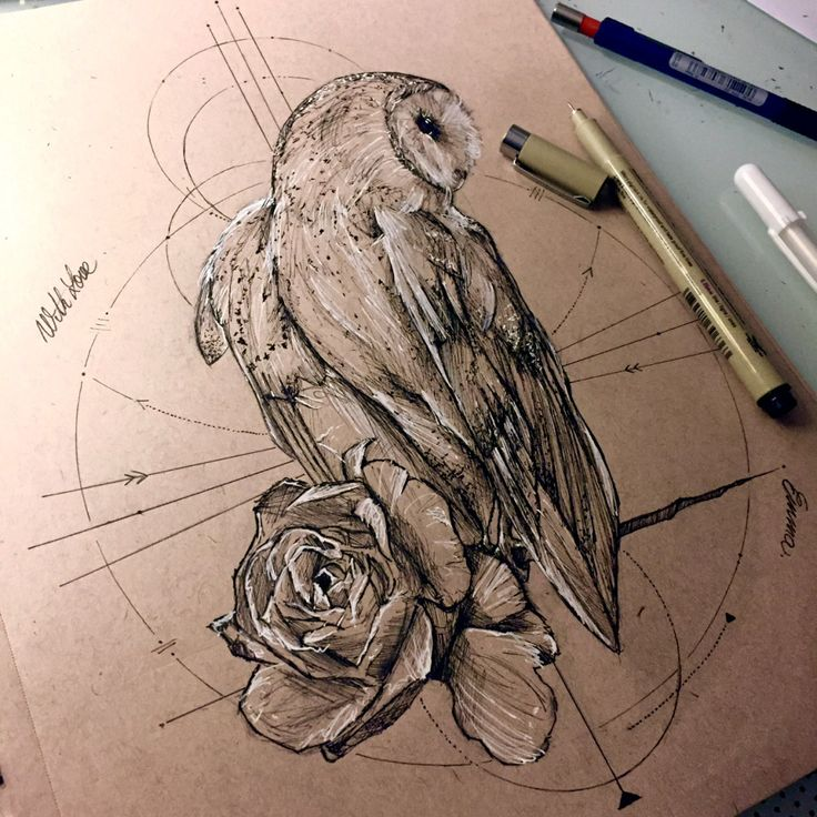 85 Best Barn Owl Tattoos Designs With Meanings