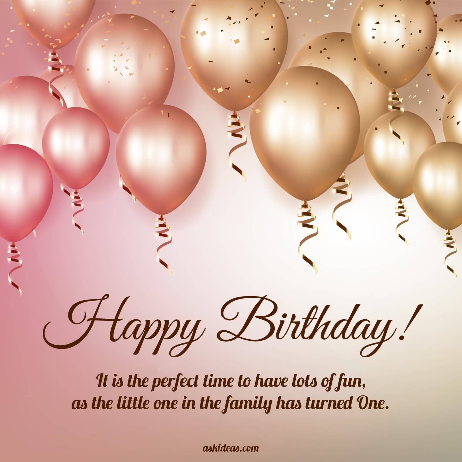 1st Birthday Wishes & Cute Baby Birthday Messages