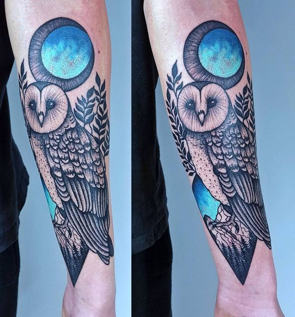 Owl Tattoos Designs Ideas And Meaning: 85+ Best Barn Owl Tattoos & Designs With Meanings