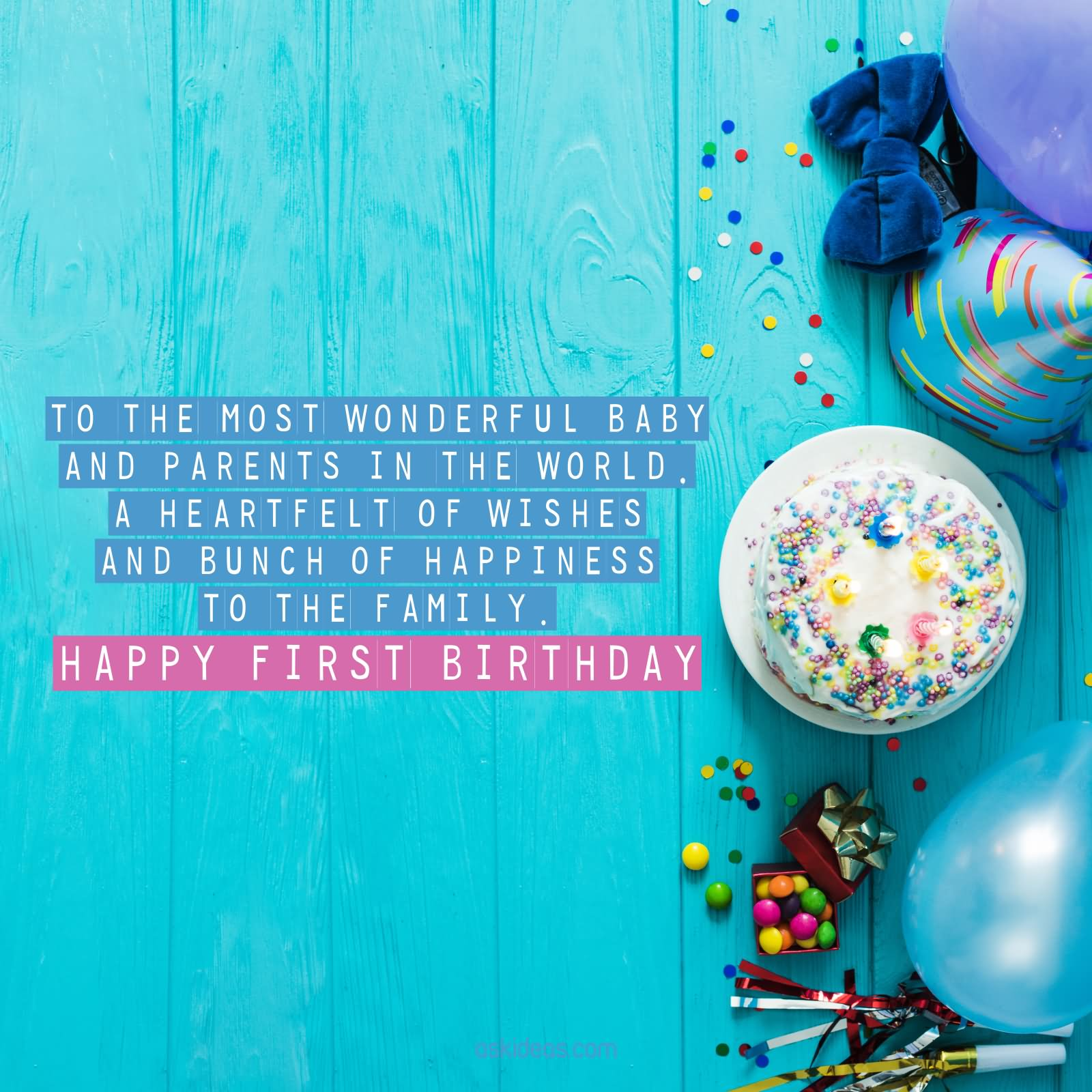 1st Birthday Wishes Cute Baby Birthday Messages