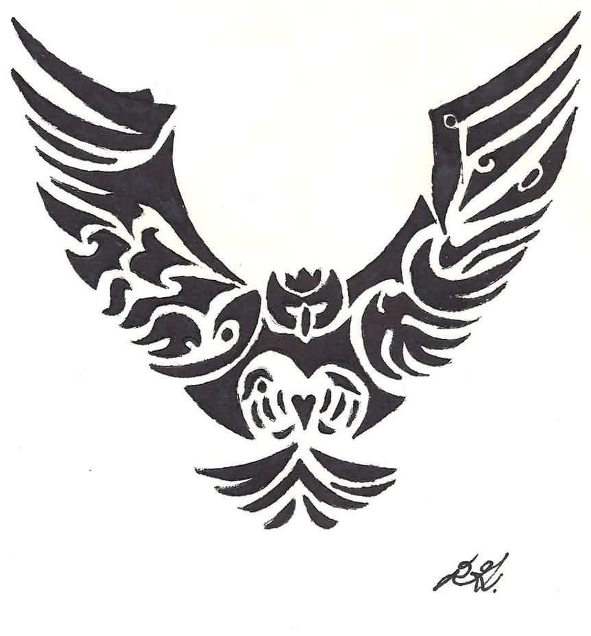 0e938498e 50+ Best Tribal Owl Tattoo Ideas & Designs