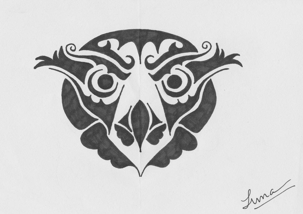 c43b767ac Tribal Owl Tattoo Design by graffitica On DeviantArt