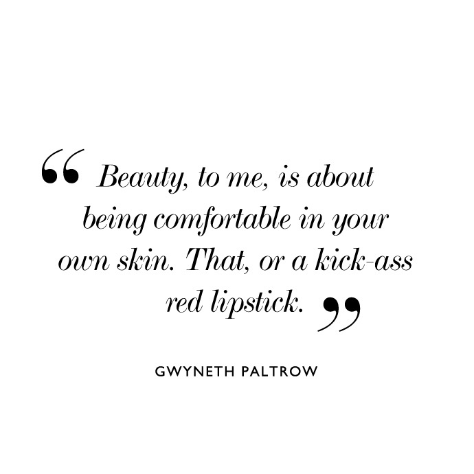 Beauty To Me Is About Being Comfortable In Your Own Skin That Or A