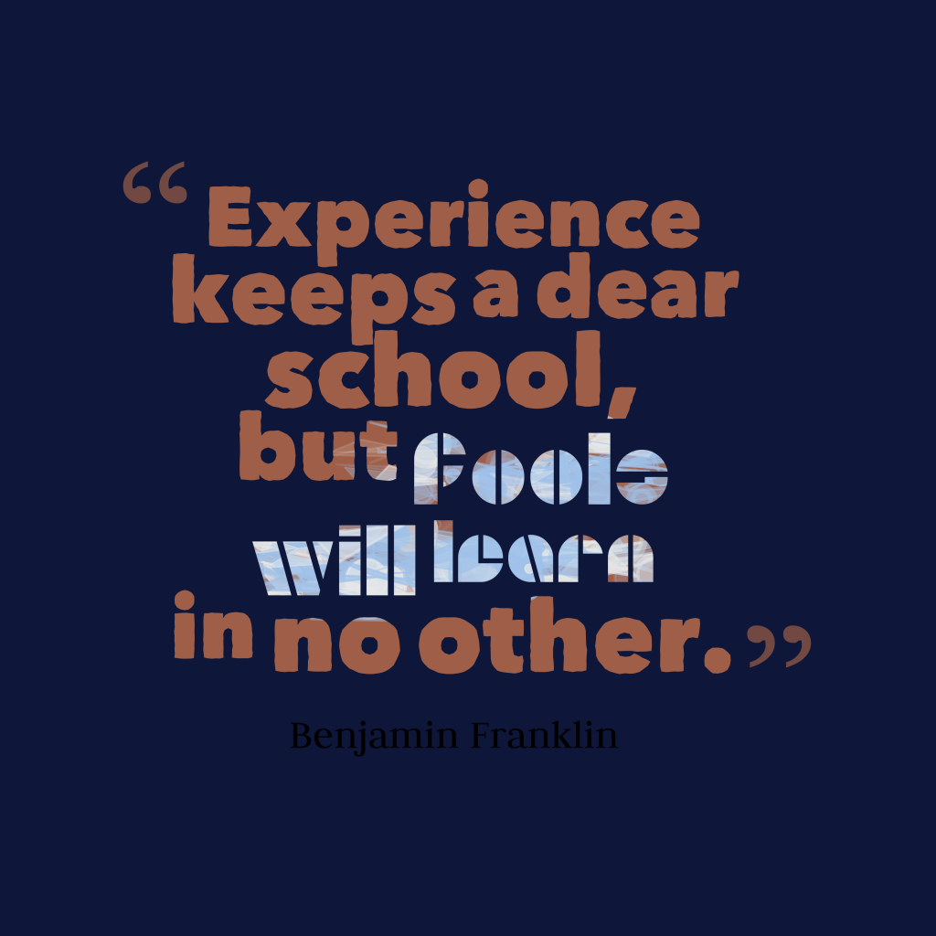 experience quotes askideascom