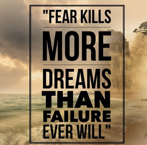Inspirational Quotes About Failure: Top 102 Greatest Fear Quotes And Sayings
