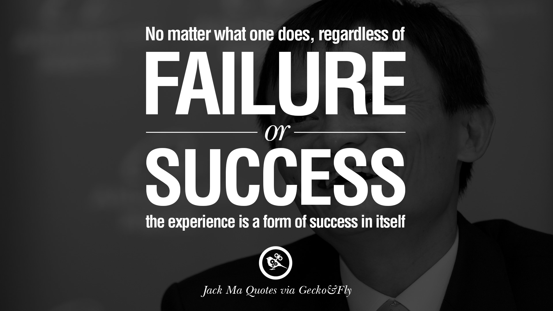 No Matter What One Does Regardless Of Failure Or Success The