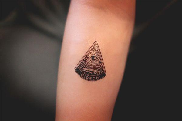 dd416d46b7825 110+ Best Illuminati Tattoos & Designs With Meanings