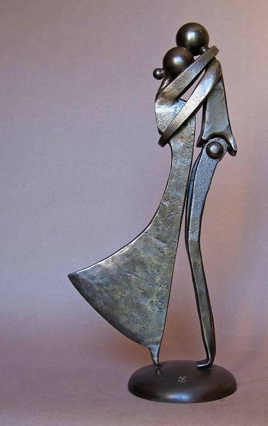 Metal art scrap sculptures