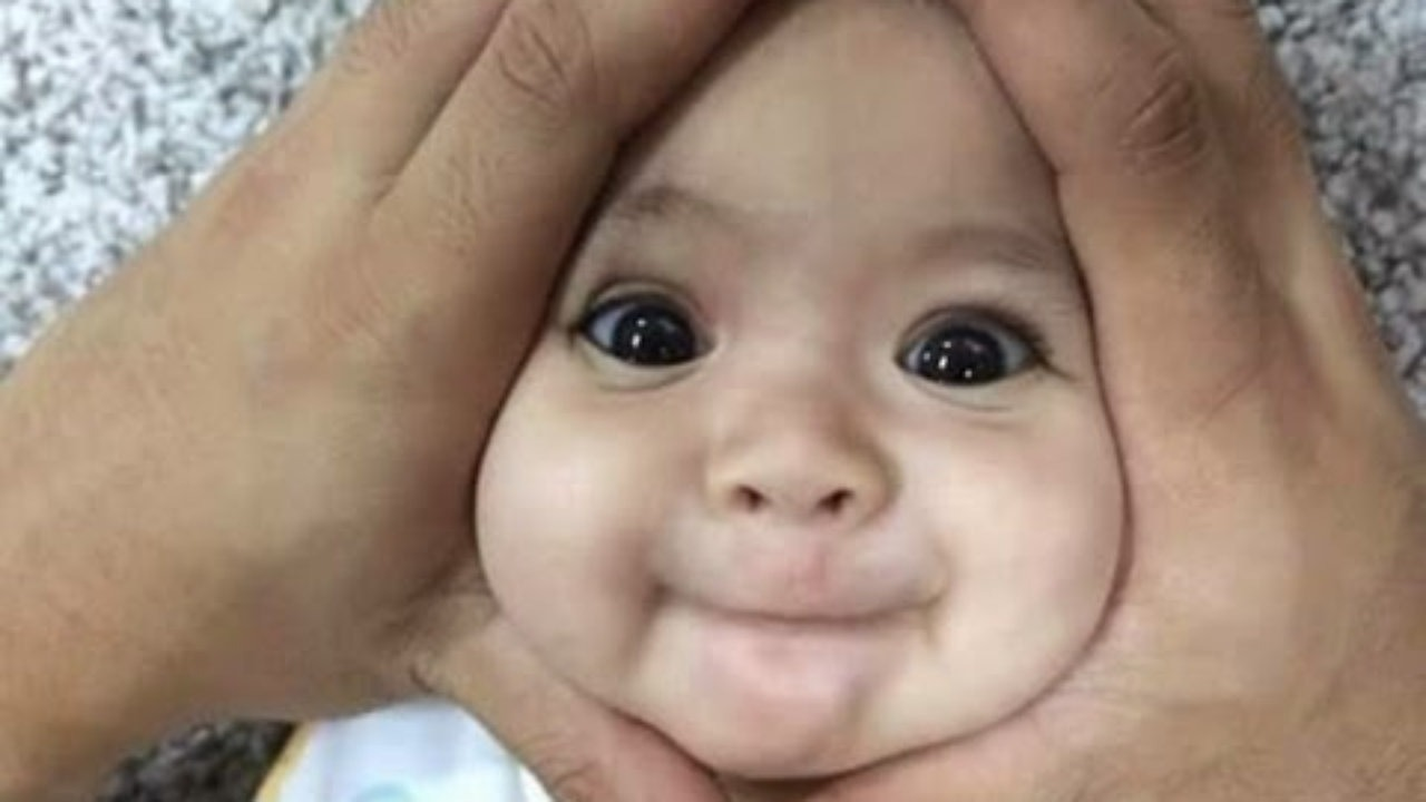 Cute Funny Kid Face Picture