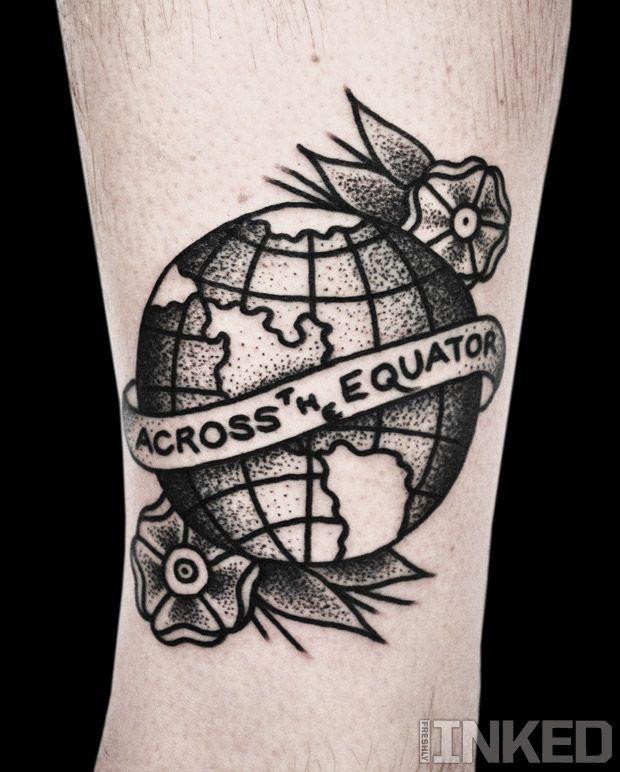 55+ Wonderful Globe Earth Tattoos & Designs