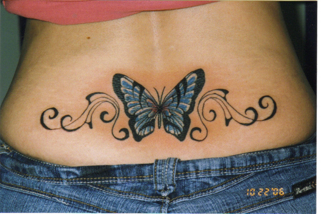 85 beautiful butterfly tattoos designs with meanings. Black Bedroom Furniture Sets. Home Design Ideas