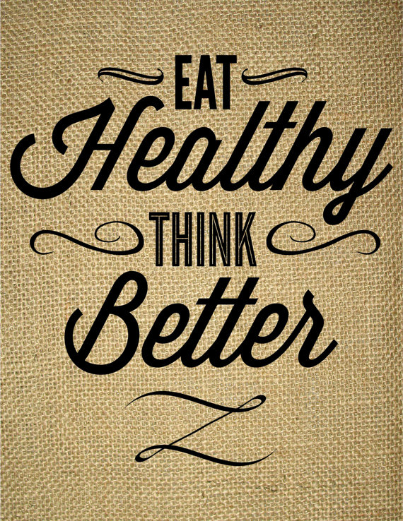 Eat Healthy Think Better