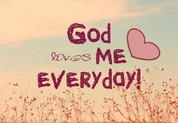 God Loves Us Quotes Enchanting God Loves Me Everyday