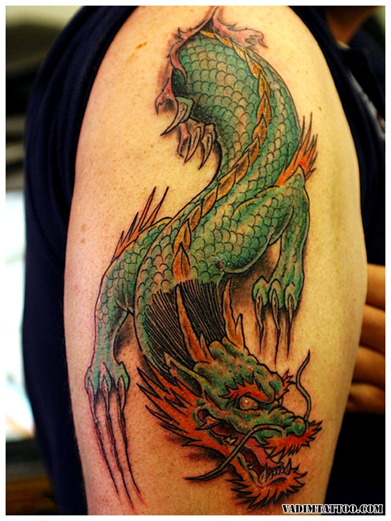 101+ Stunning Dragon Tattoos & Designs With Meanings