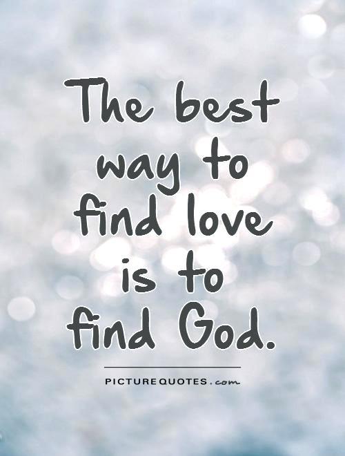 Best way to find love