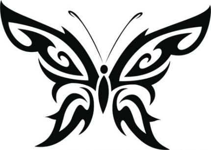 what logo has a colorful butterfly