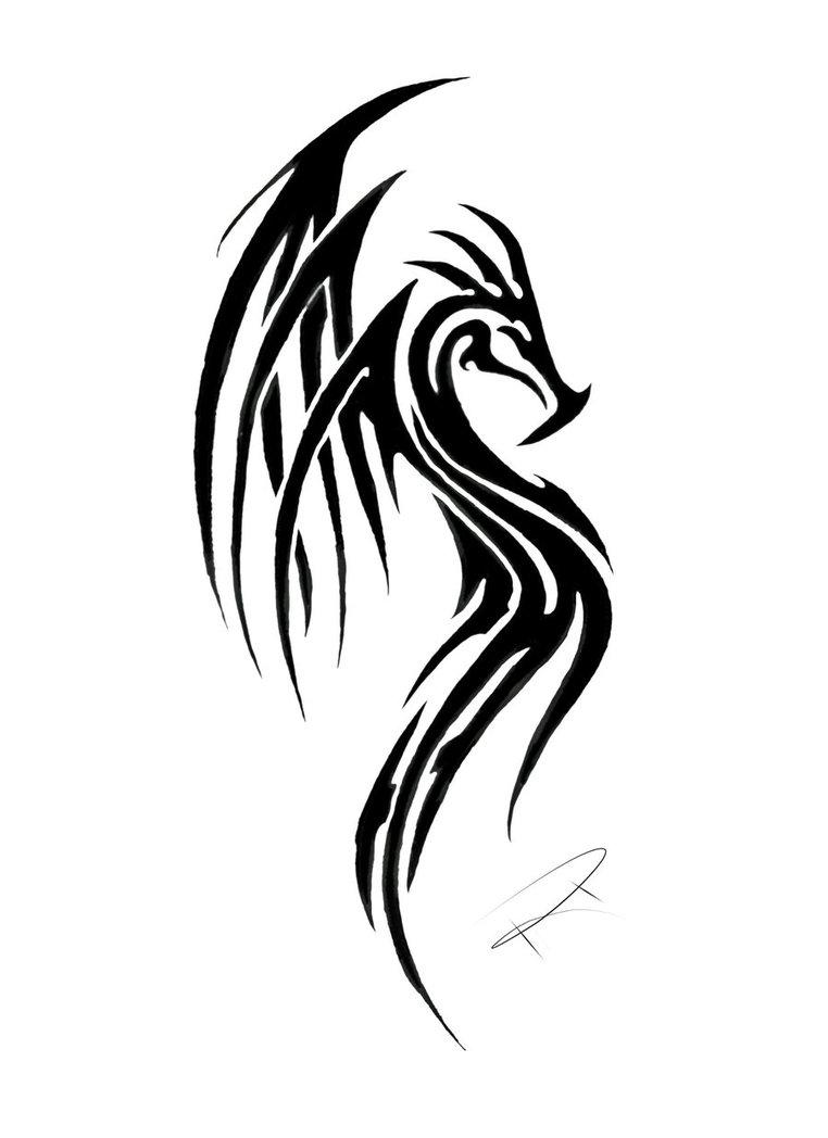 Tattoo dragon meaning tribal 80+ Tribal