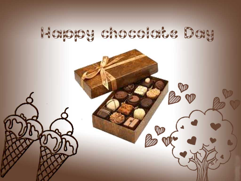 Happy Chocolate Day Chocolate Box For You