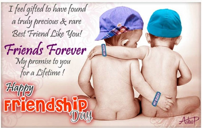 Friends Forever Happy Friendship Day