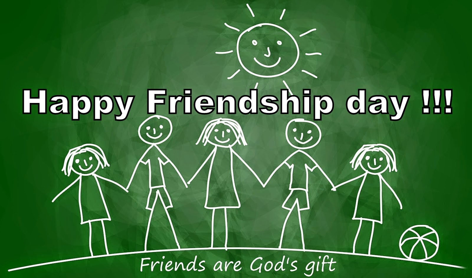 Happy Friendship Day Friends Are Gods Gift
