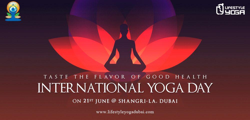 Taste The Flavor Of Good Health International Yoga Day