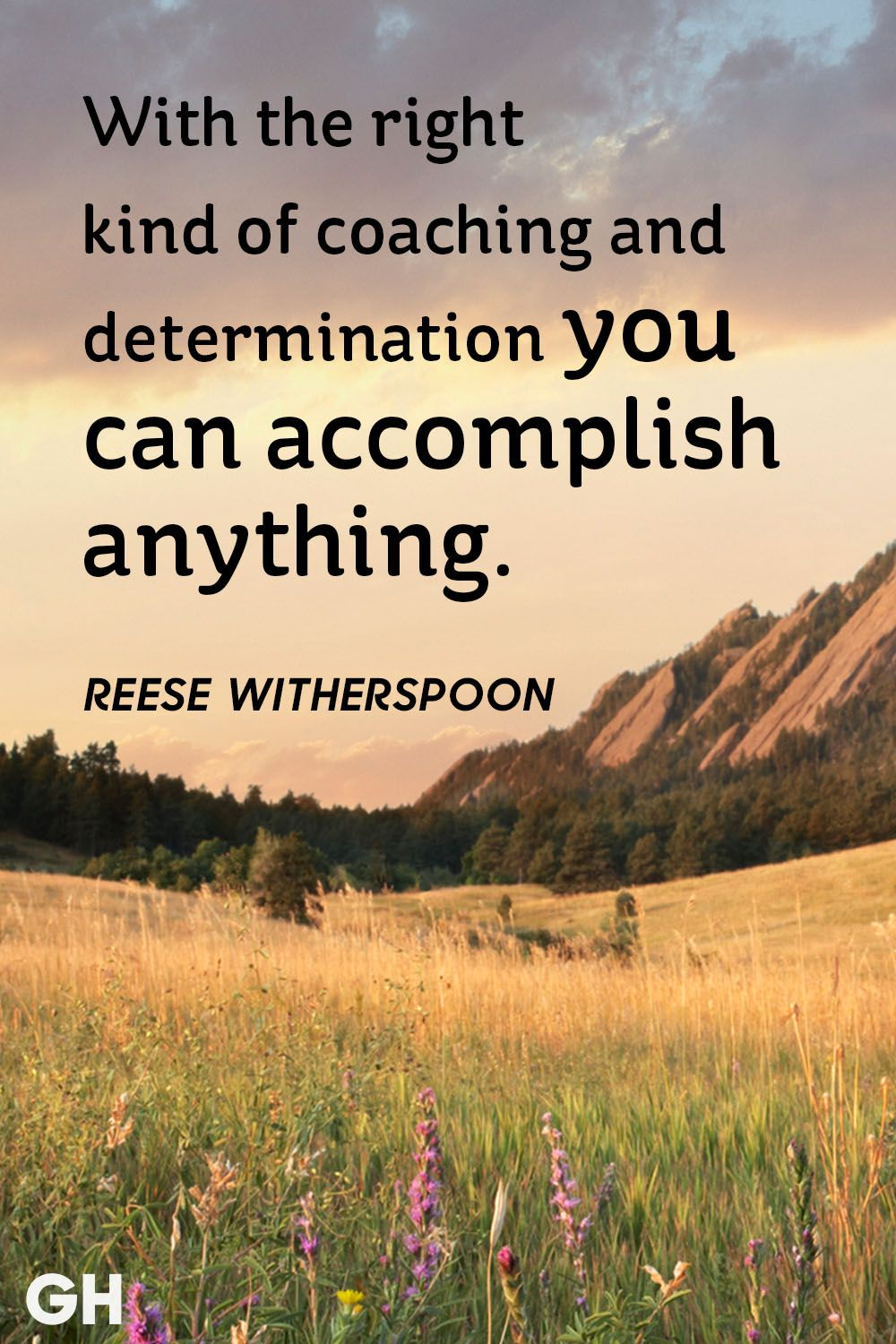 Inspirational Quotes About Positive: With The Right Kind Of Coaching And Determination You Can