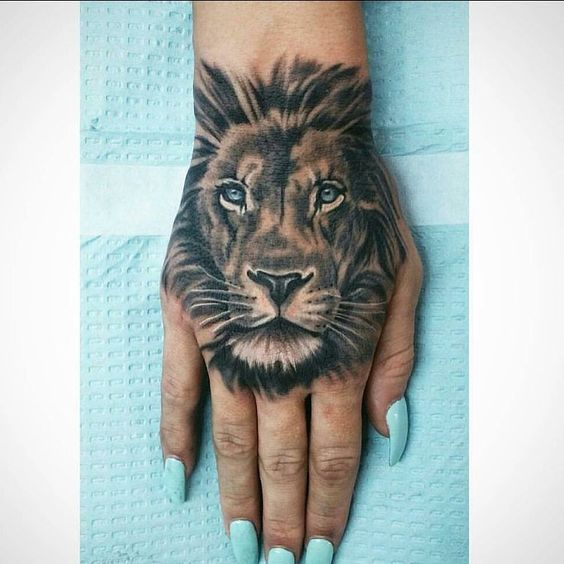 659387b4a 110+ Lion Tattoos and Designs | Powerful King Of Jungle Tattoos